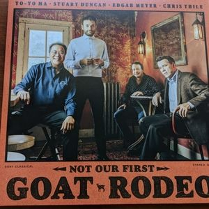 Yo Yo Ma -Not Our First Goat Rodeo vinyl record 33
